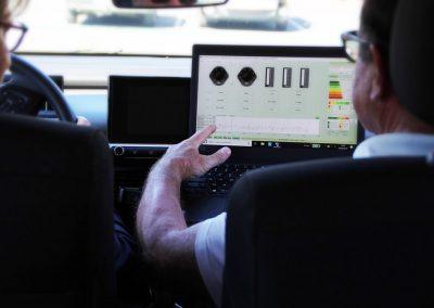 Audit comportemental de conduite filmé sur VL, VUL ou PL